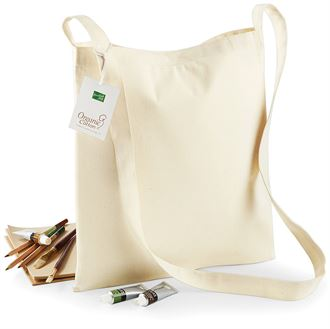 Organic Cotton Sling Tote Bag