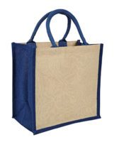 Blue Amazon Juco Bag