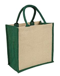 Green Amazon Juco Bag