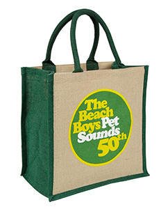 Beach Boys Custom Brecon Jute Bag