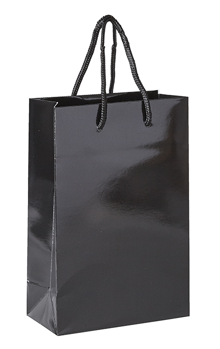 Plain Black Luxury Paper Bag
