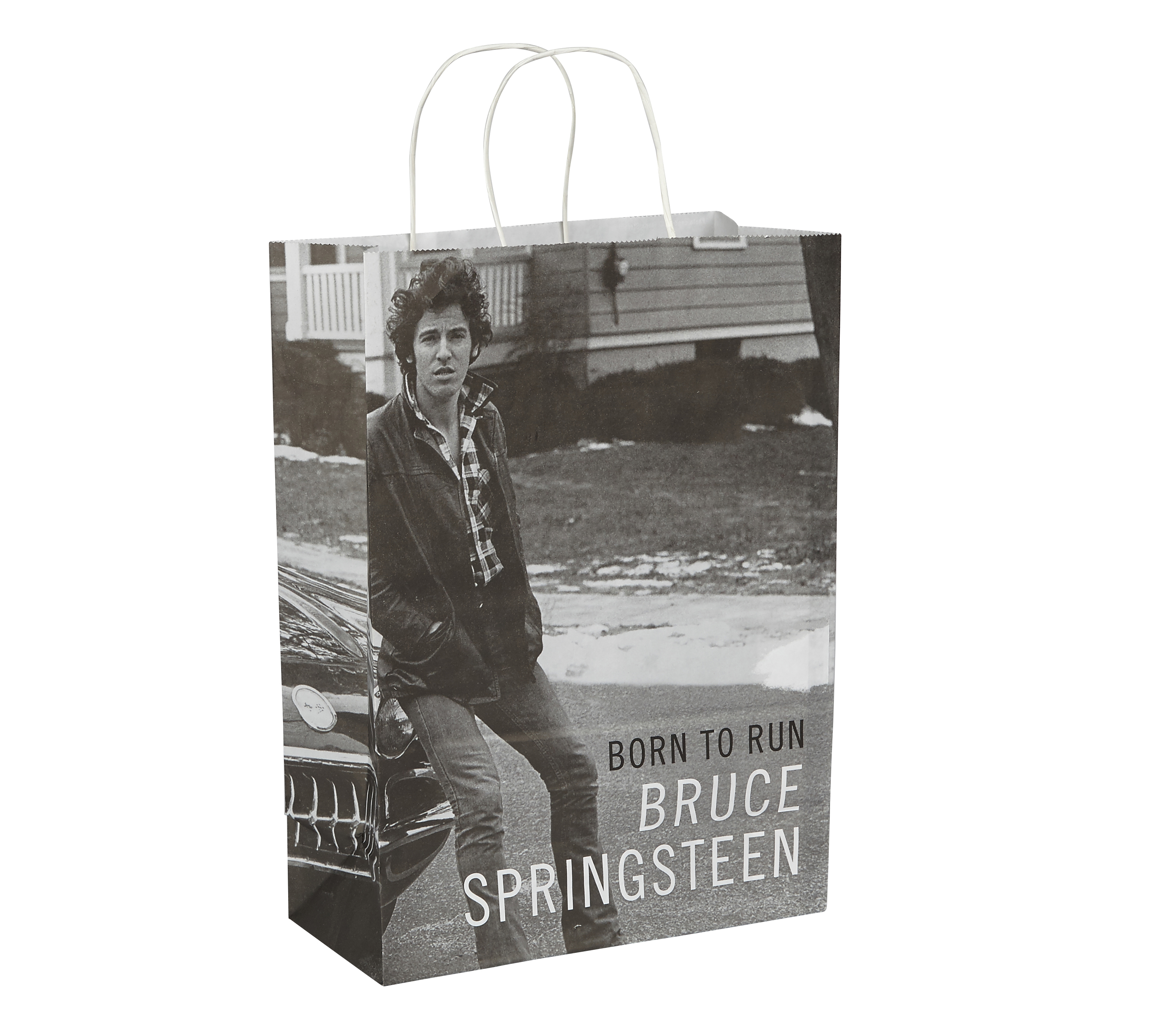 Bruce Springsteen Bespoke Paper Carrier Bag