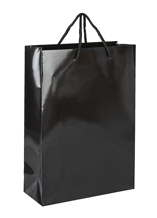 Black Victory Luxury Paper Bag