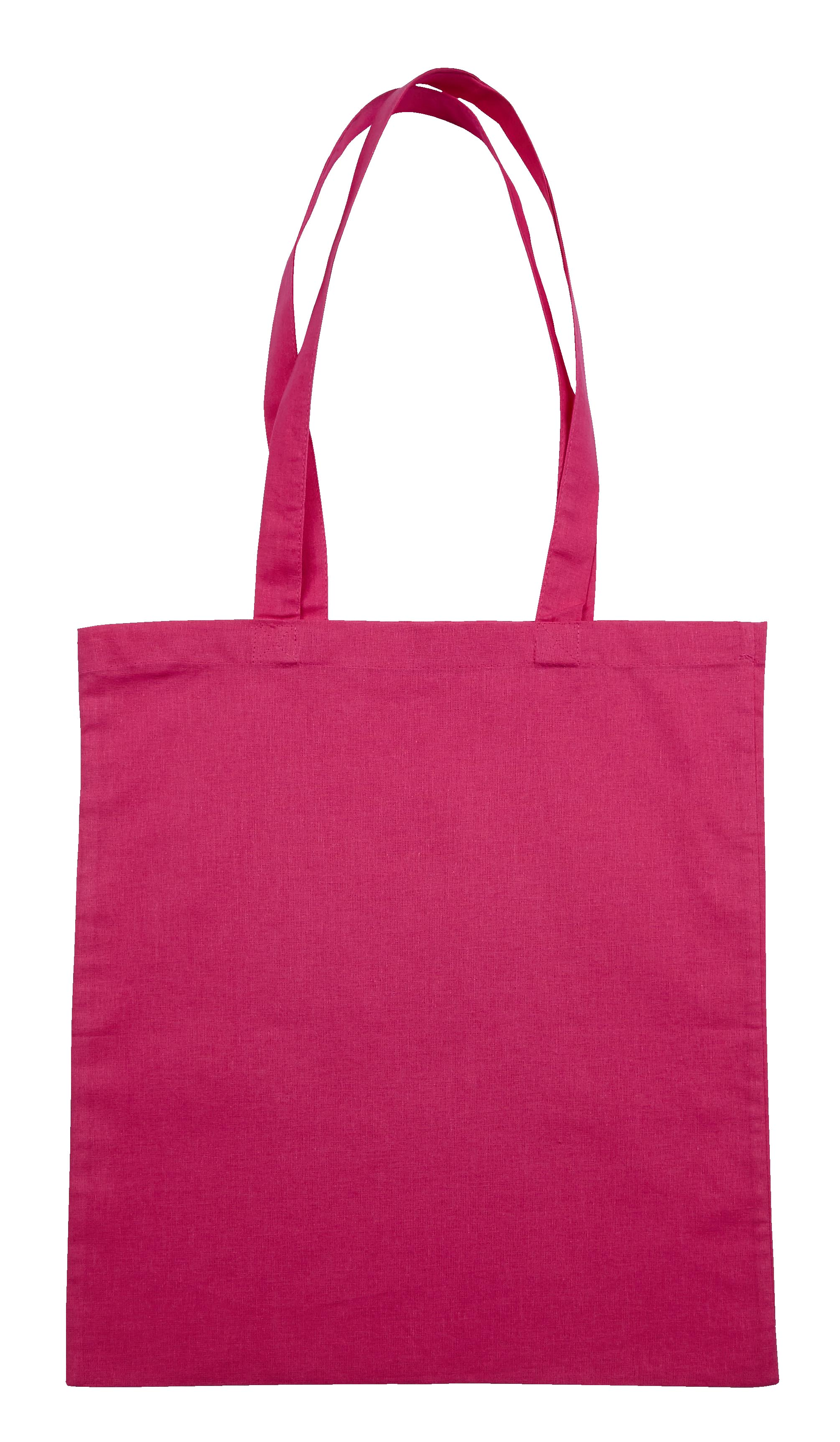 Pink Jute Canvas Cotton Shopper Bag