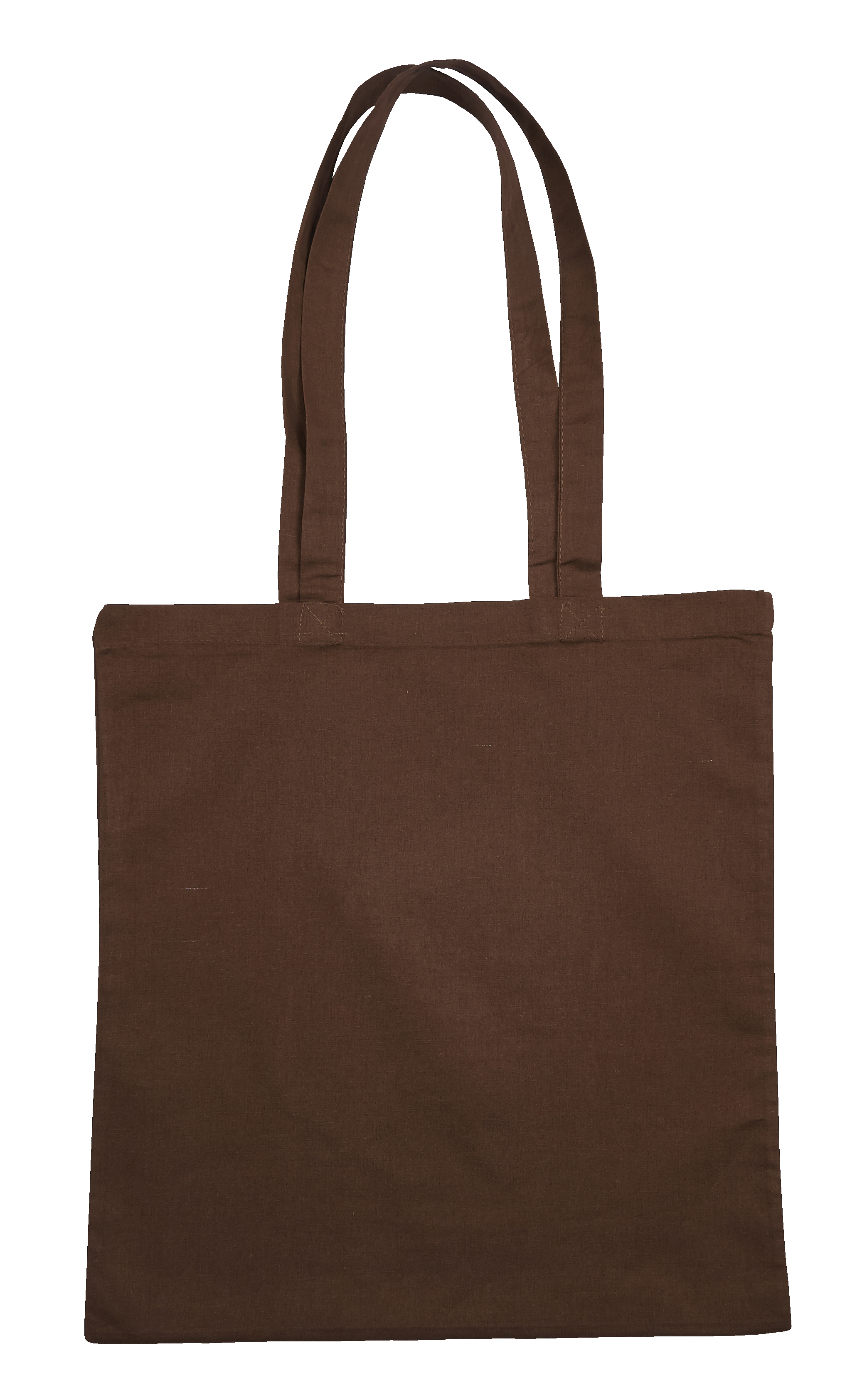 Brown Jute Canvas Cotton Shopper Bag