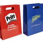 Luxury Paper Bag with die cut handles