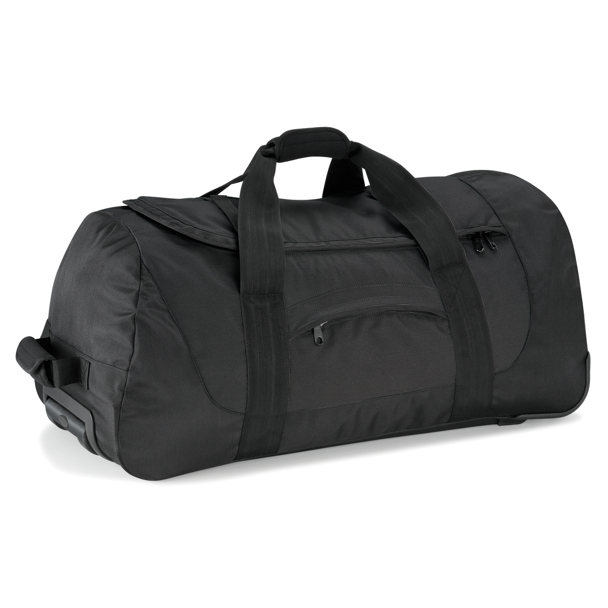 Black Vessel Team Wheelie Bag
