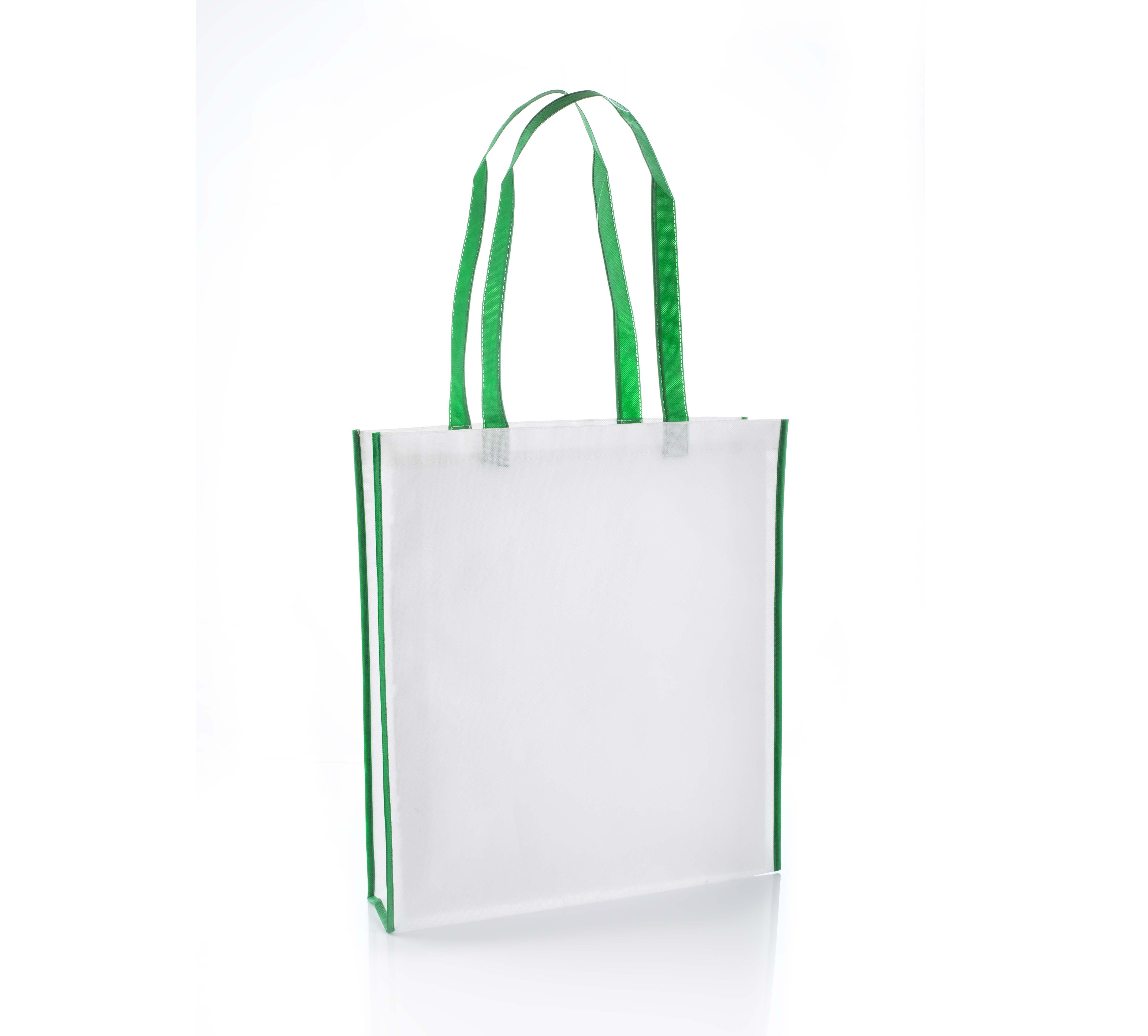 Virginia Green Non Woven Tote Bag