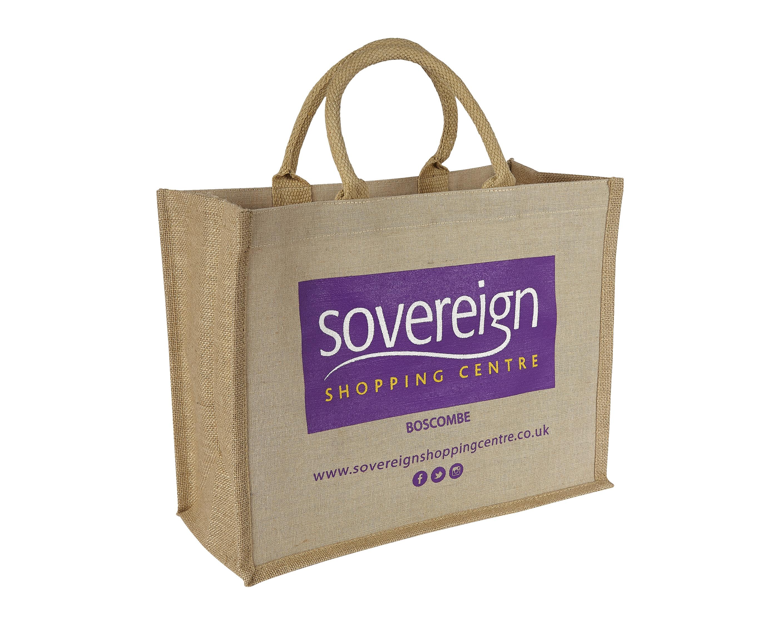 Sovereign Shopping Centre Bespoke Canberra Jute Bag