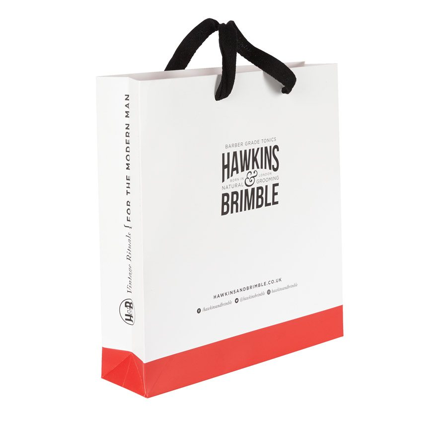 Hawkins & Brimble Customised Luxury Paper Bag