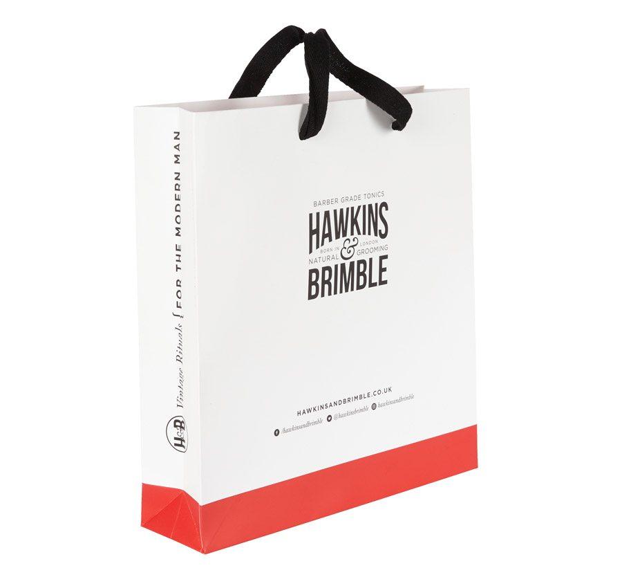 Hawkins & Brimble Customised Luxury Paper Bag