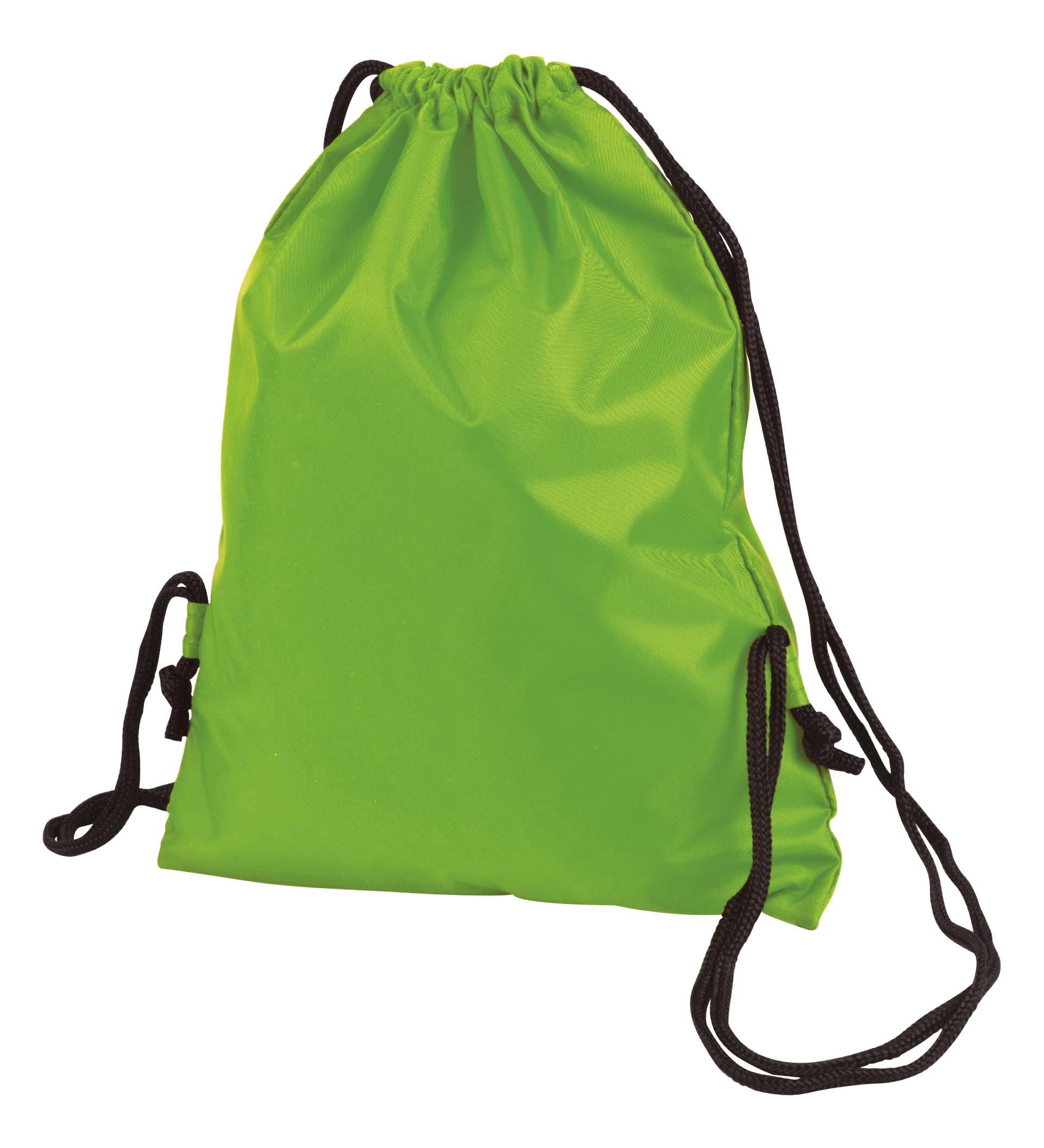 Green Taffeta Backpack Sport