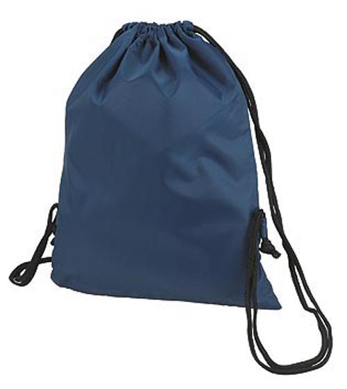 Blue Taffeta Backpack Sport