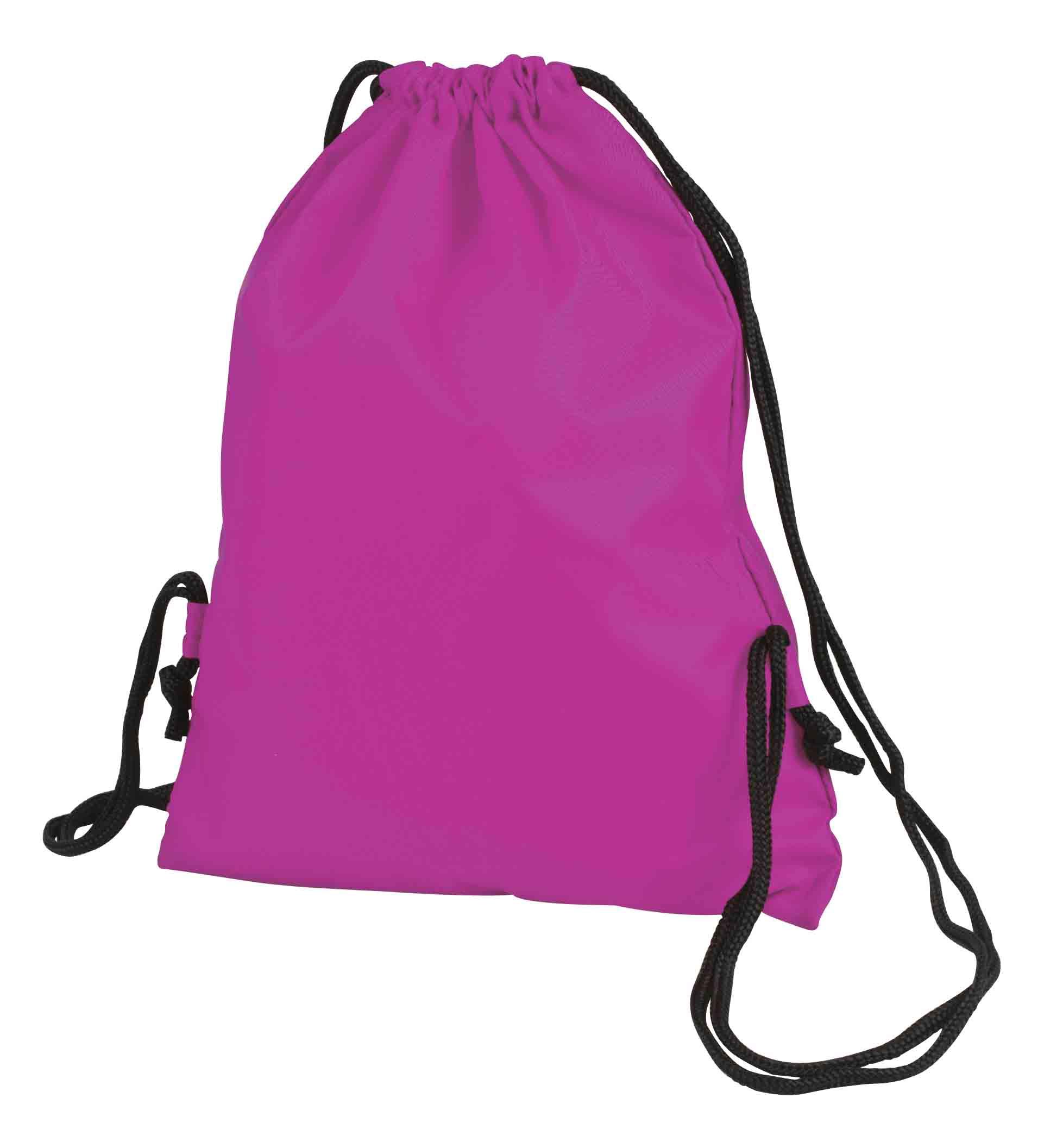 Purple Taffeta Backpack Sport