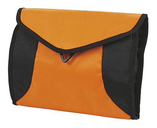 Orange sport wash bag