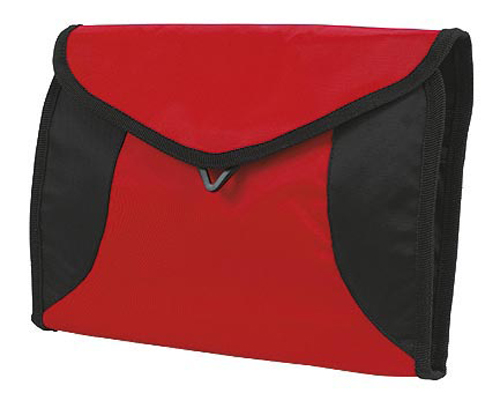 Red Sports wash bag