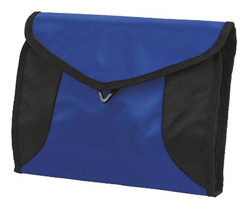 Blue sports wash bag