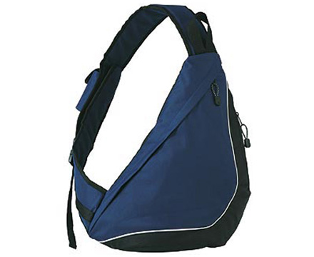Navy Blue Slingpack City bag