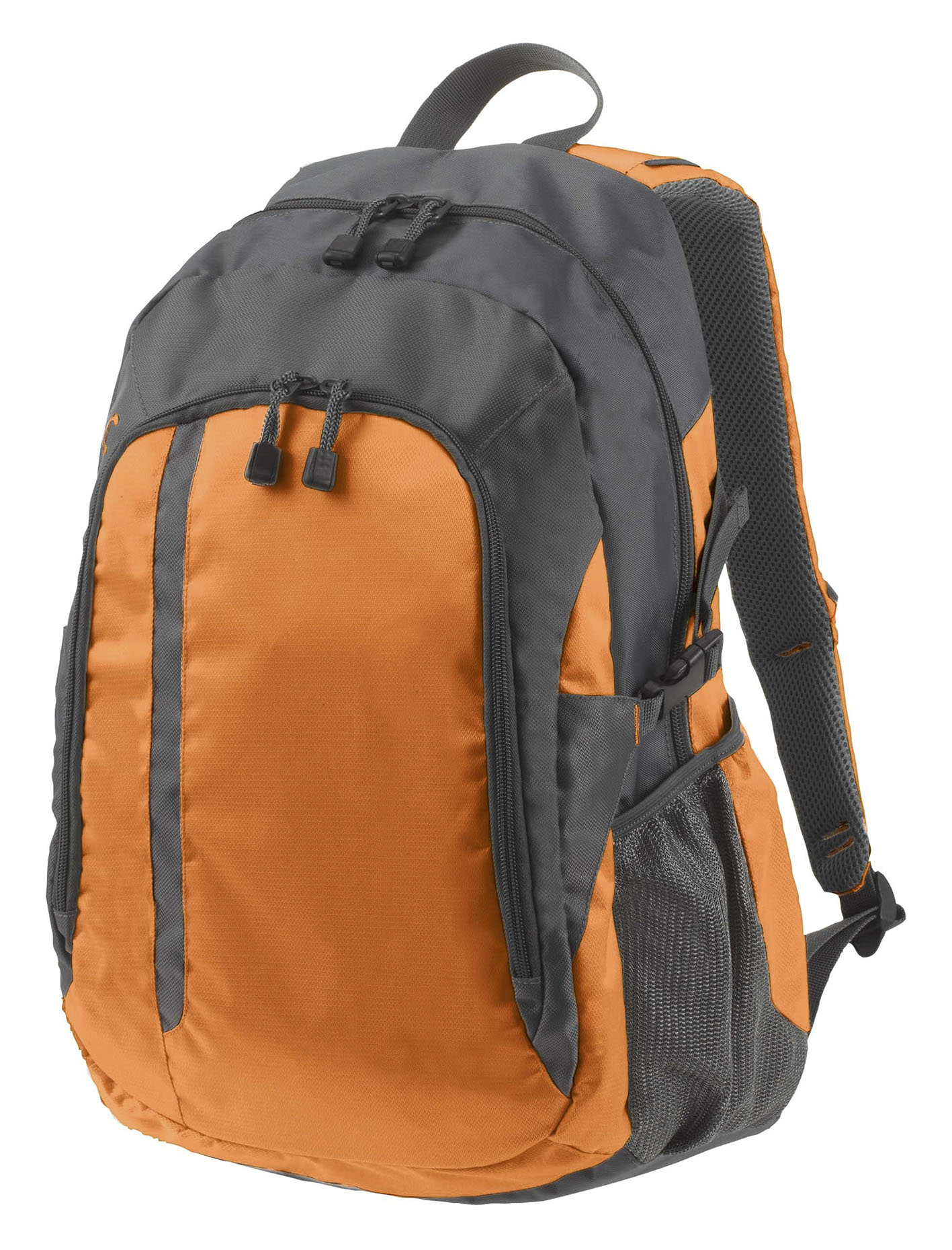 Galaxy Backpack in Orange and Grey