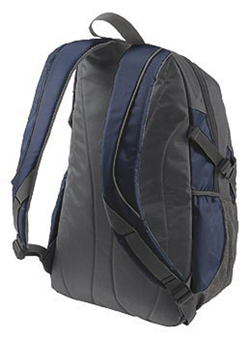 Handles of Galaxy Backpack in Blue