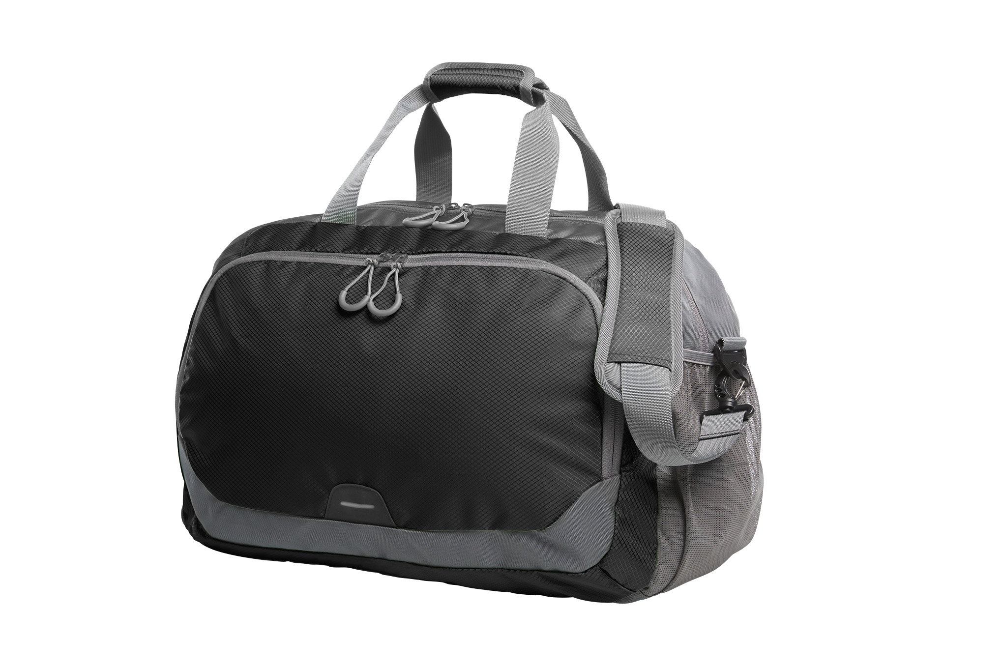 Black and Grey STEP Sports and Travel Bag