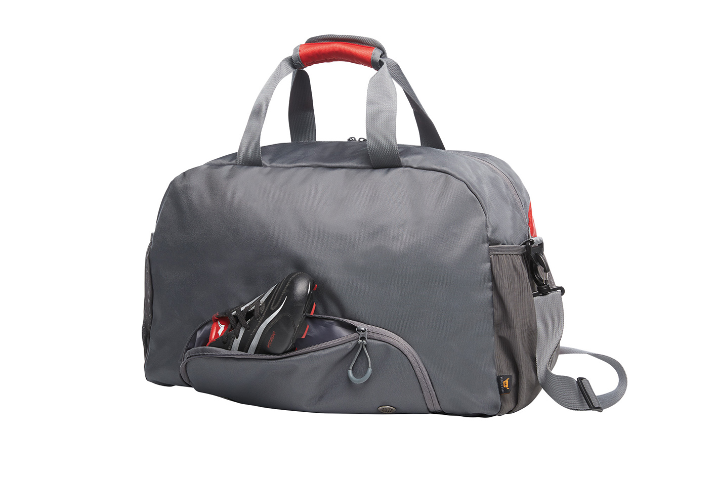 STEP Grey Sports Bag