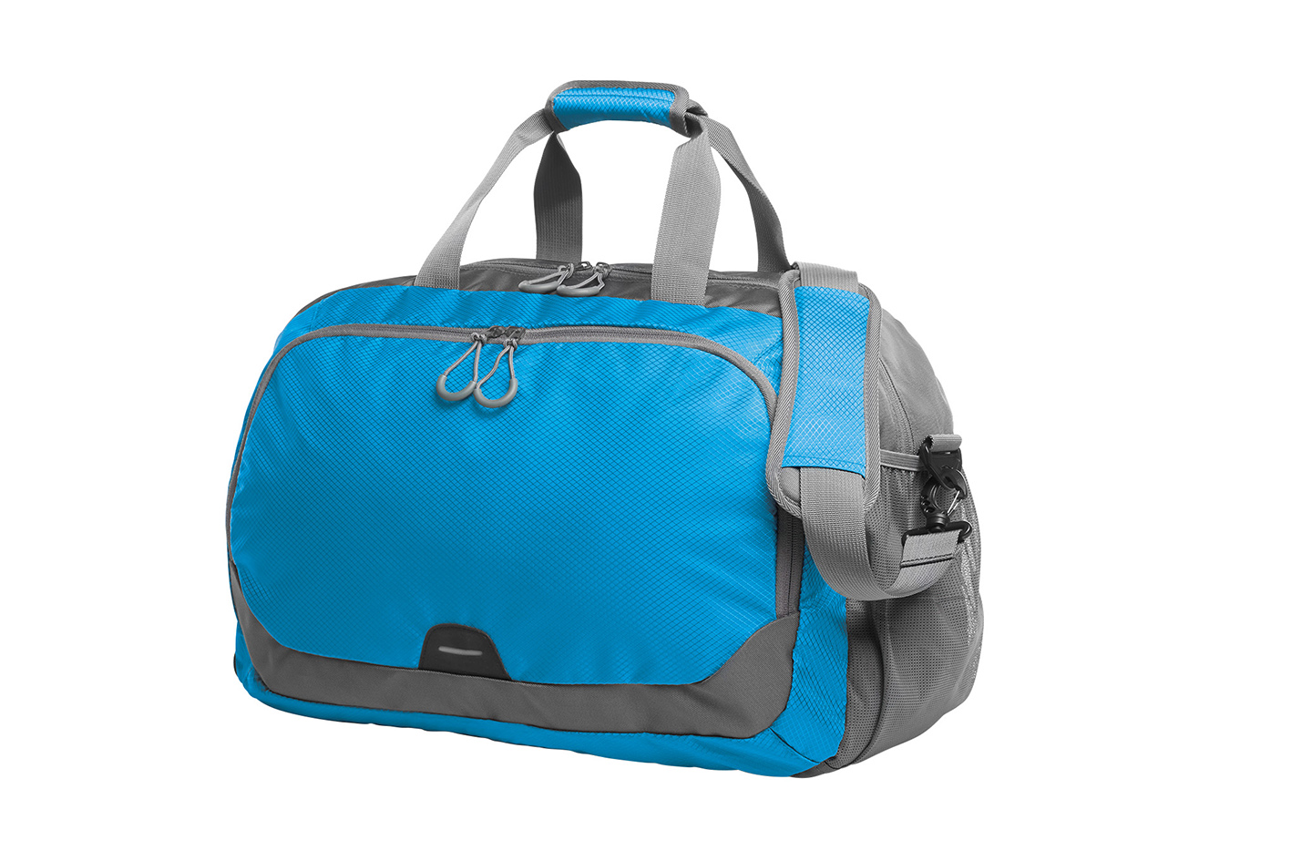 Blue and Grey Travel Bag STEP