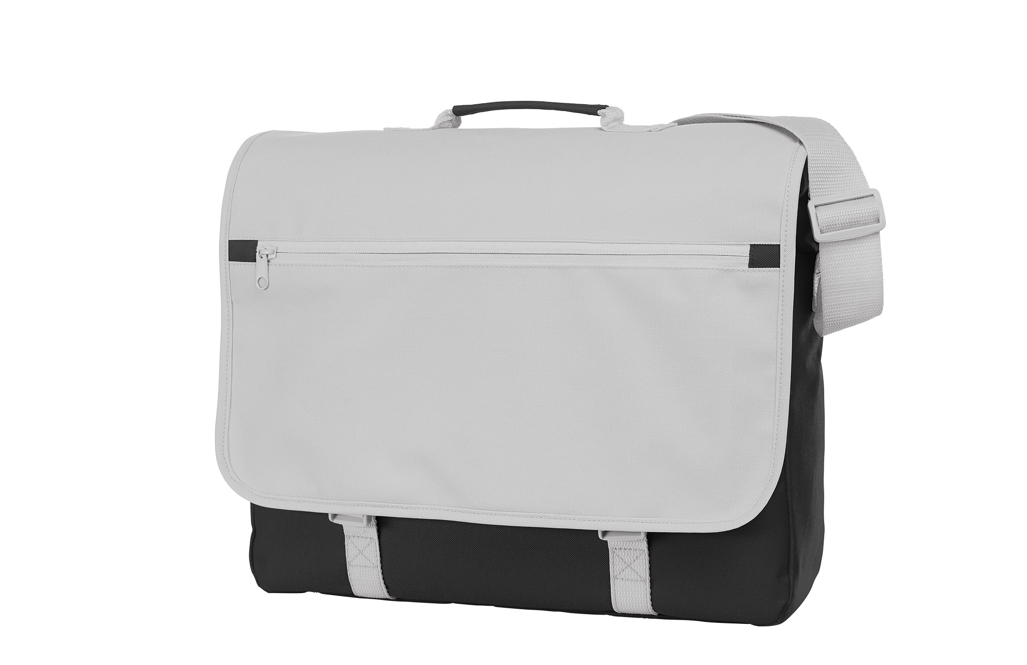 Black and White Congress Shoulder Bag