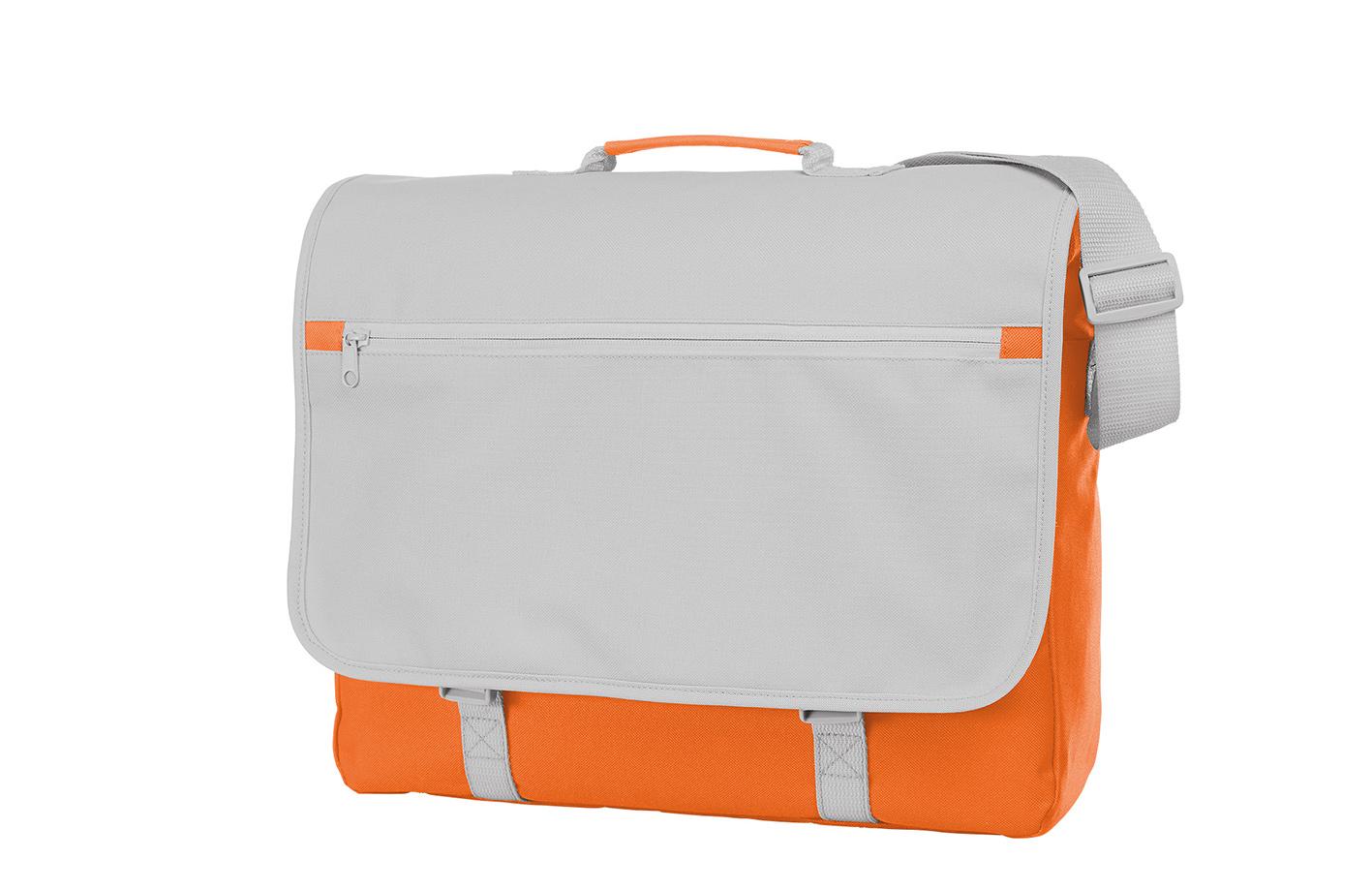 Orange and White CONGRESS Shoulder Bag