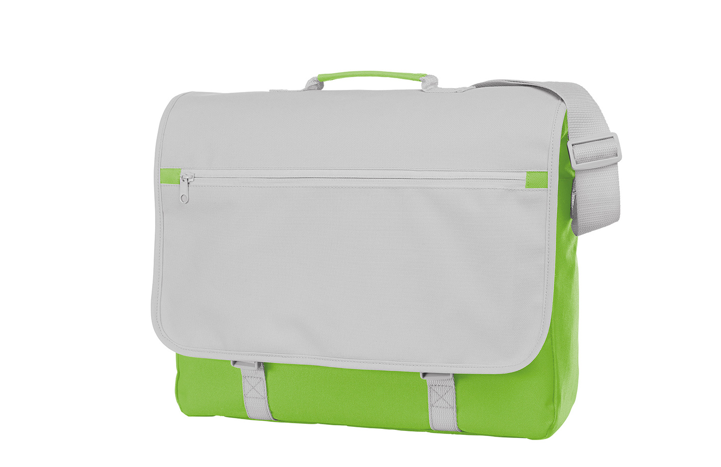 Green and White CONGRESS Shoulder Bag