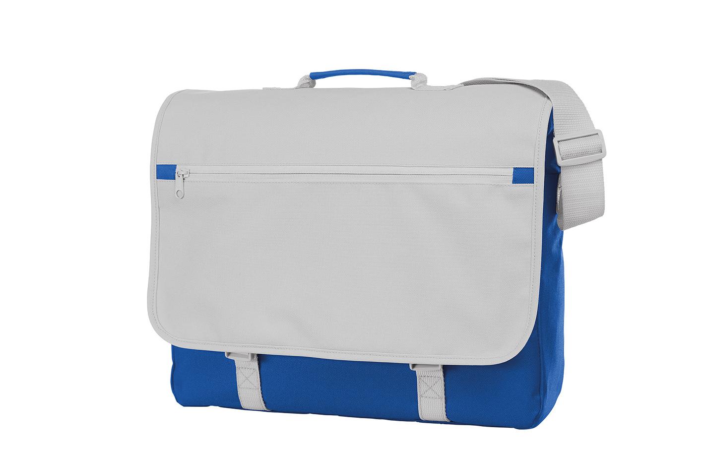 Blue and White CONGRESS Shoulder Bag