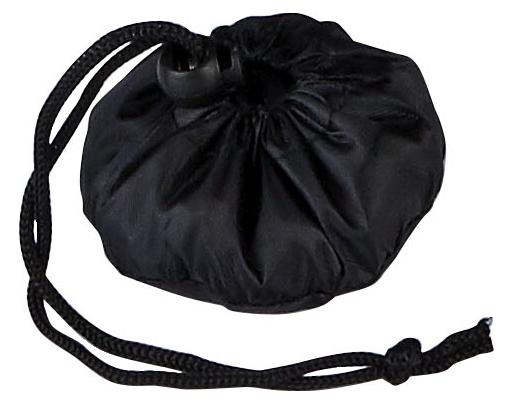 Triumph Black Foldable Bag Pouch