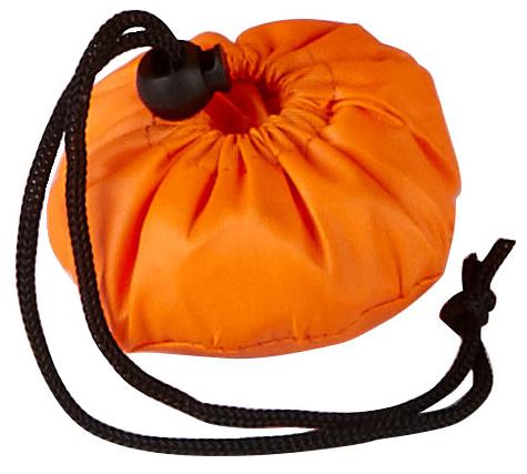 Triumph Orange Shopping Bag Pouch