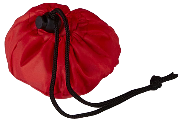Triumph Red Foldable Shopping bag Pouch
